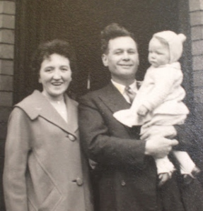 With Mum and Dad