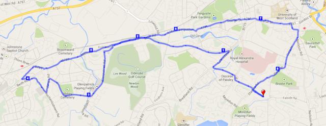 route - 27 Jan