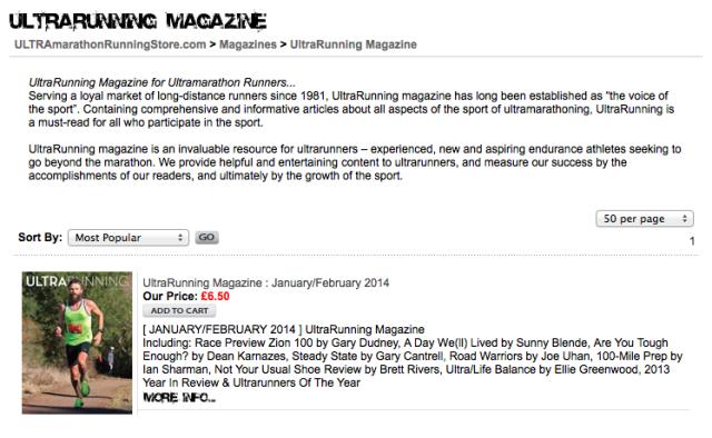 Ultrarunning magazine