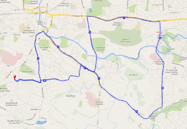 route - 10 Feb