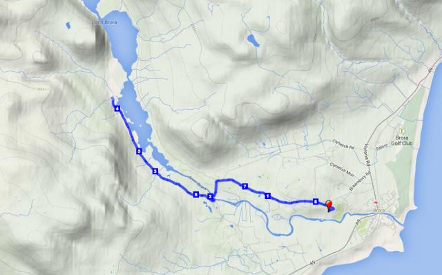 Loch Brora run