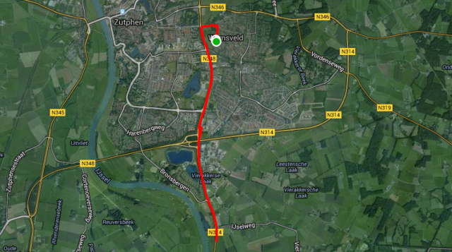zutphen run route