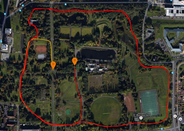 route 10-24 springburn parkrun